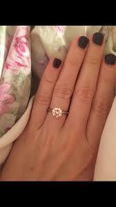 plain engagement ring with diamond wedding band solitaire w diamond or plain wedding band