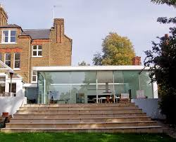 glass box extension and house extension crouch end north london