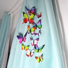 Silk Draperies Ready Made Luxury Faux Silk Curtains Ready Made Eyelet Butterflies Decoration