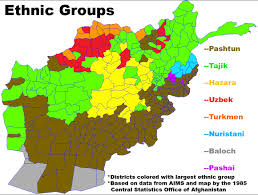 Kabul Map Elections Elections Afghanistan Election Results Map South