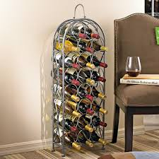 parisian wrought iron wine rack wine enthusiast