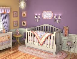Unique Nursery Decorating Ideas Baby Nursery Cool Image Of Purple Baby Nursery Decoration