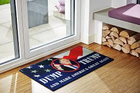 amazon com dump trump novelty doormat includes dump trump bumper