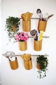 porte ustensile cuisine barre crédence porte ustensile rangement cuisine artesanía con
