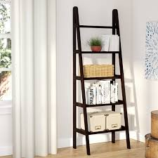 Easy Crate Leaning Shelf And by Andover Mills Channing Ladder Bookcase U0026 Reviews Wayfair