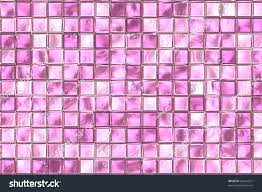 pink and purple color tiles at bathroom wall stock photo 64541521