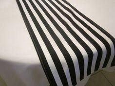 Plastic Table Runners Black U0026 White Striped Polka Dot Reversible Table Runner Might Be