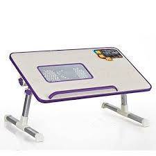 buy x gear ergonomic adjustable laptop table with cooling fan