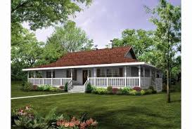 wrap around porch ideas one story house plans with porch new single story house plans with