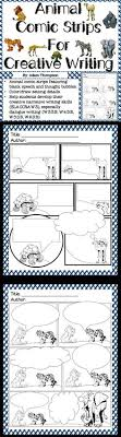 Pinterest     The world     s catalog of ideas Animal Comic Strips for Creative Writing  Fun activity for students to practice writing dialogue to