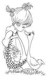dress printables colouring precious