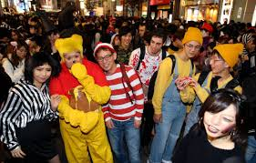 people enjoy halloween in japan photos and images getty images