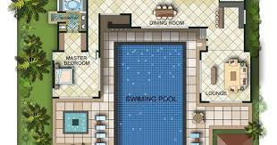 florida house plans with pool floor plan the courtyard ii custom orlando fl small designs u