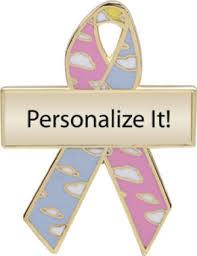 custom awareness ribbons cloud custom awareness ribbons lapel pins