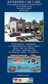 Check Engine Light Oil Change Check Engine Light 60546 Riverside Car Care 3212 S Harlem Ave