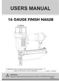 flooring101 norge 16 finish nailer manual buy hardwood