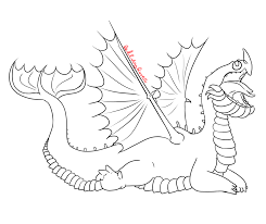 baby scauldron outline for xbox ds gameboy by ruby the dragon on