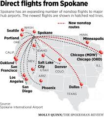Arkansas Travel Tickets images New flights boosting travel options at spokane airport the jpg