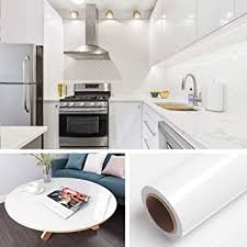 white gloss kitchen cupboard wrap livelynine 40cmx5m gloss white contact paper sticky back plastic self adhesive vinyl wrap plain wallpaper for kitchen worktop bathroom cabinet kitchen