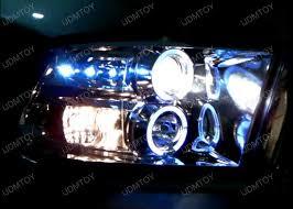 2009 dodge ram 1500 headlight bulbs 09 12 dodge ram black dual halo projector led headlights