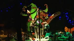 new gingerbread house in haunted mansion holiday during halloween