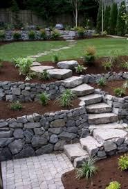 Garden Path Ideas 50 Marvelous Backyard Rock Pathway To Enhance Your Beautiful