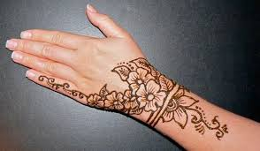 collection of 25 designer henna tattoo on hand