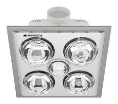 bath heater fan light lights decoration