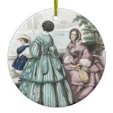 civil war antebellum fashion ornaments keepsake ornaments zazzle