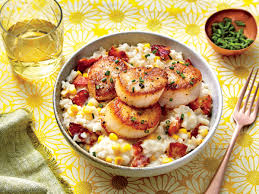 www southernliving creamy rice with scallops recipe southern living mastercook