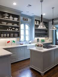 Open Cabinets Kitchen Cabinet Open Shelving Houzz