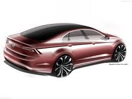 volkswagen new midsize coupe concept 2014 pictures