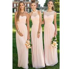 pink bridesmaid dresses light pink bridesmaid dress 2016 halter pleat chiffon