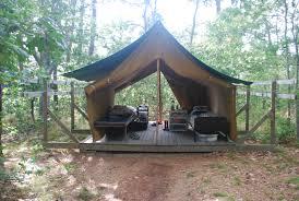 permanent camp tents tent city canvas house