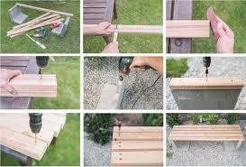 Gartengestaltung Mit Steinen Diy Gartenbank Mit Beton Und Holz Leelah Lovesleelah Loves