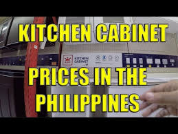 how do you price kitchen cabinets kitchen cabinet prices in the philippines