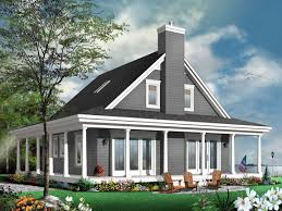 Cottage House Plans With Wrap Around Porch by House Plans With Wrap Around Porch Unique Country Cottage House