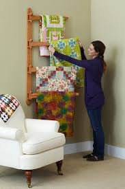Wood Magazine Ladder Shelf Plans by 32 Best Quilt Rack Plans Quilt Hanger Plans Images On Pinterest