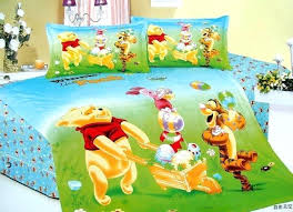 Winnie The Pooh Comforter Blue Mickey Mouse Football Bedding Sets Single Twin Size
