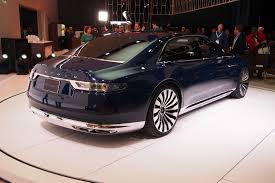 lincoln town car 2017 2017 lincoln continental to debut in january autoguide com news