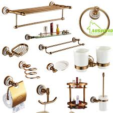 Discounted Bathroom Accessories by Aliexpress Com Buy Antique Brushed Aluminum Bathroom Accessories