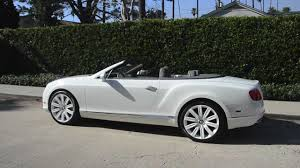white bentley convertible bentley gtc with white wheels symbolic motor car company youtube