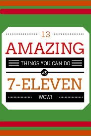 13 amazing things you can do at a 7 eleven a cruising