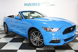 mustang size 2017 used ford mustang ecoboost premium convertible at haims