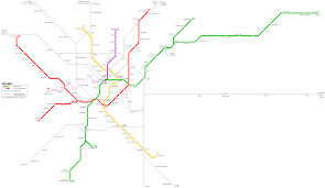 Rome Subway Map by Milan Subway Map For Download Metro In Milan High Resolution