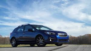 subaru sedan white 2017 subaru impreza review small but mighty consumer reports
