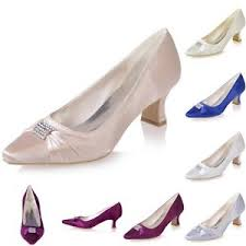 wedding shoes office satin wedding bridal shoes office work party low mid