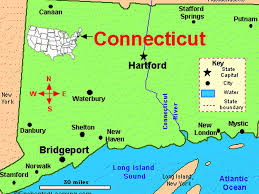 Connecticut New York Map by Connecticut By Rexing Emmalee