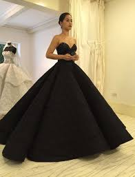 Wedding Dresses In Maja Salvador Stuns In A Black Wedding Dress In