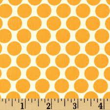 Tangerine Home Decor Amy Butler Lotus Full Moon Polka Dot Tangerine Discount Designer